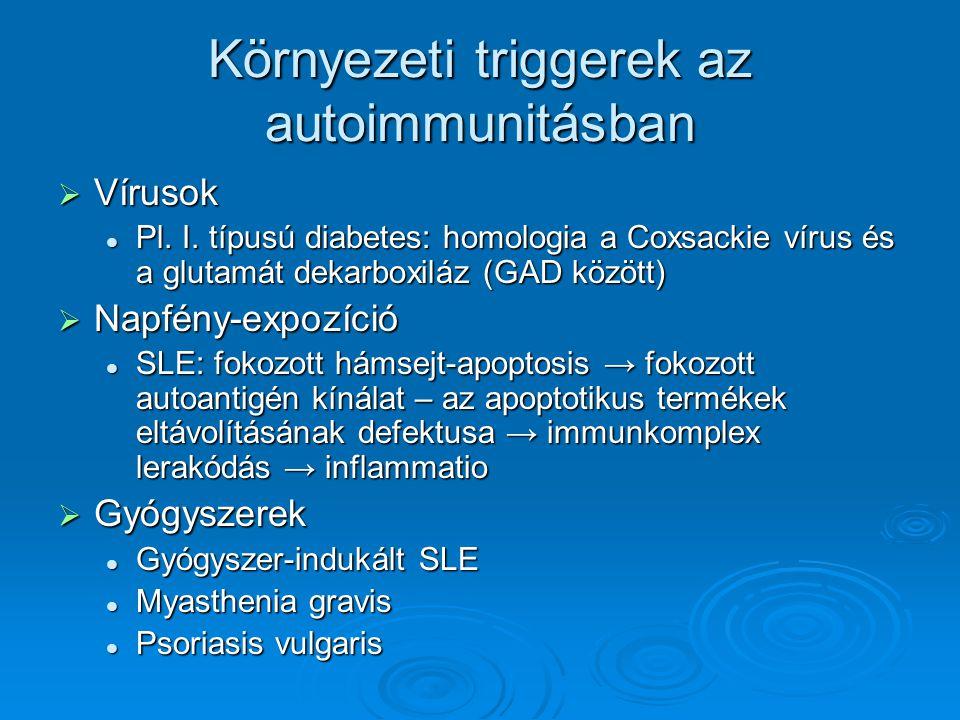 Környezeti triggerek az autoimmunitásban