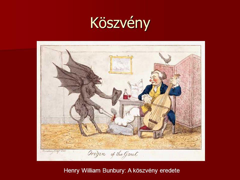 Köszvény Henry William Bunbury: A köszvény eredete