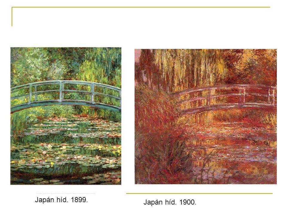 Japán híd. 1899. Japán híd. 1900.