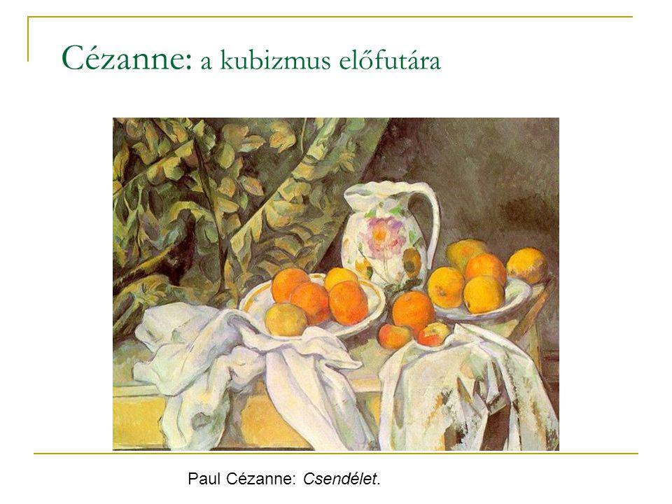Cézanne: a kubizmus előfutára