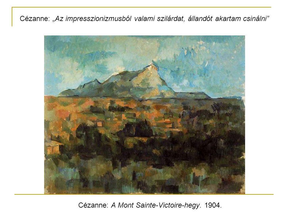 """Cézanne: """"Az impresszionizmusból valami szilárdat, állandót akartam csinálni"""