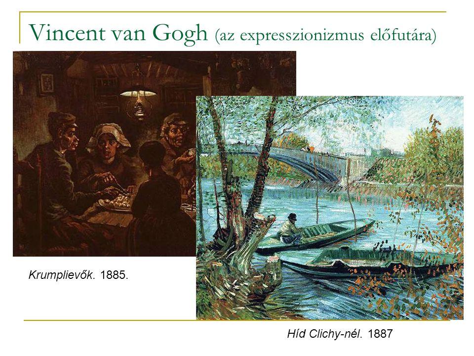 Vincent van Gogh (az expresszionizmus előfutára)