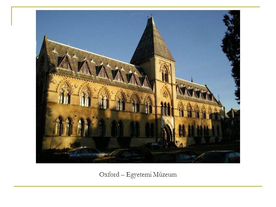 Oxford – Egyetemi Múzeum
