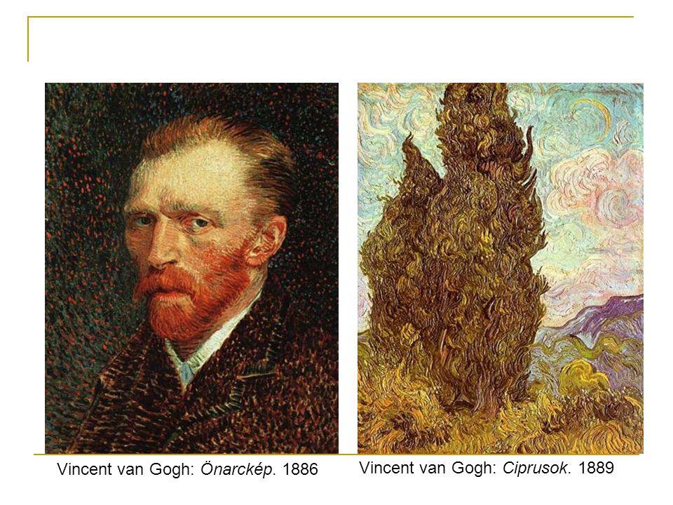 Vincent van Gogh: Önarckép. 1886
