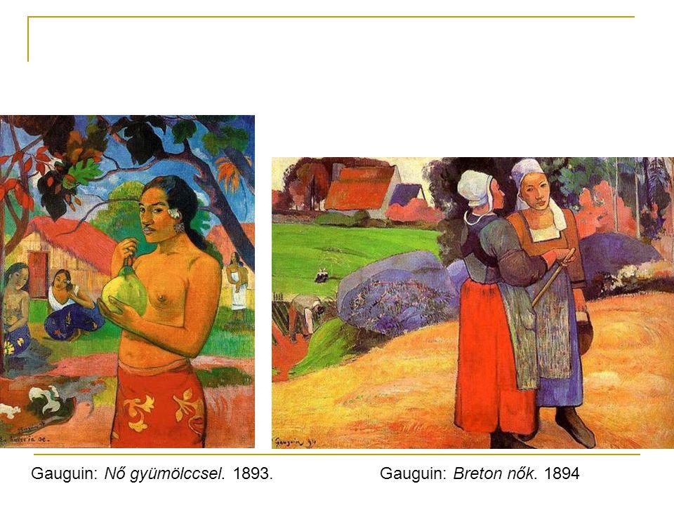 Gauguin: Nő gyümölccsel. 1893.