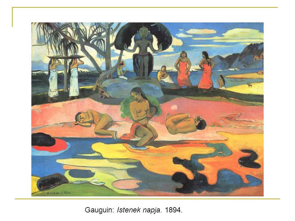 Gauguin: Istenek napja. 1894.
