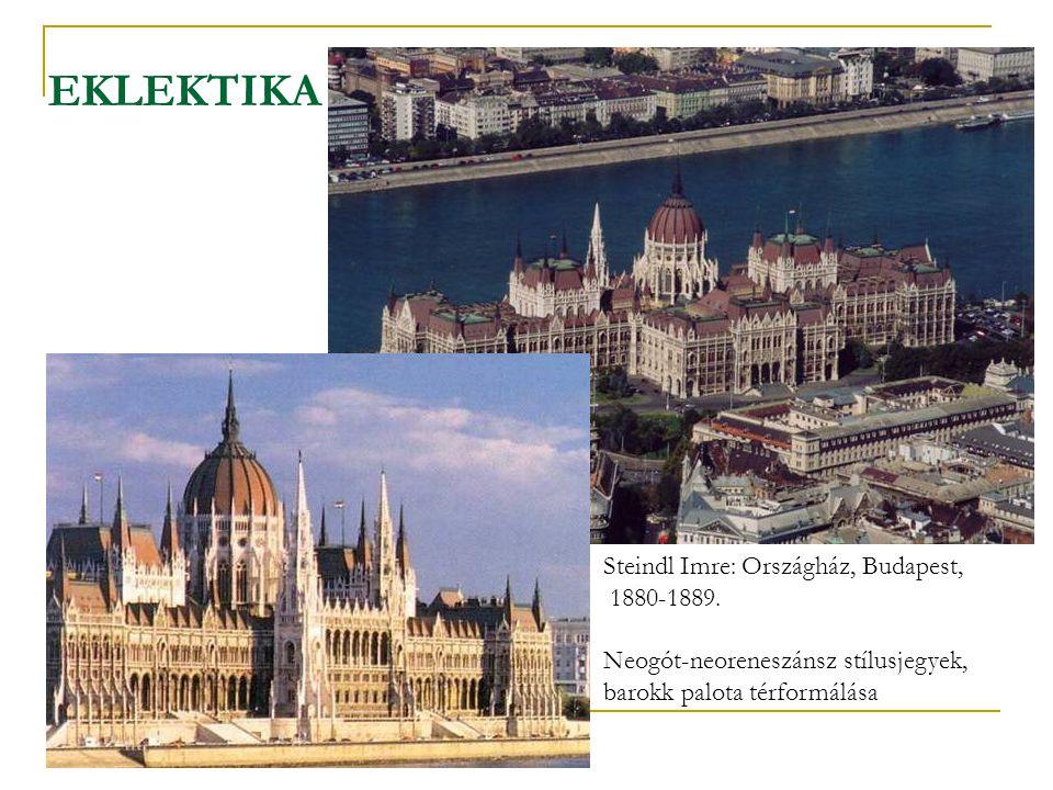 EKLEKTIKA Steindl Imre: Országház, Budapest, 1880-1889.