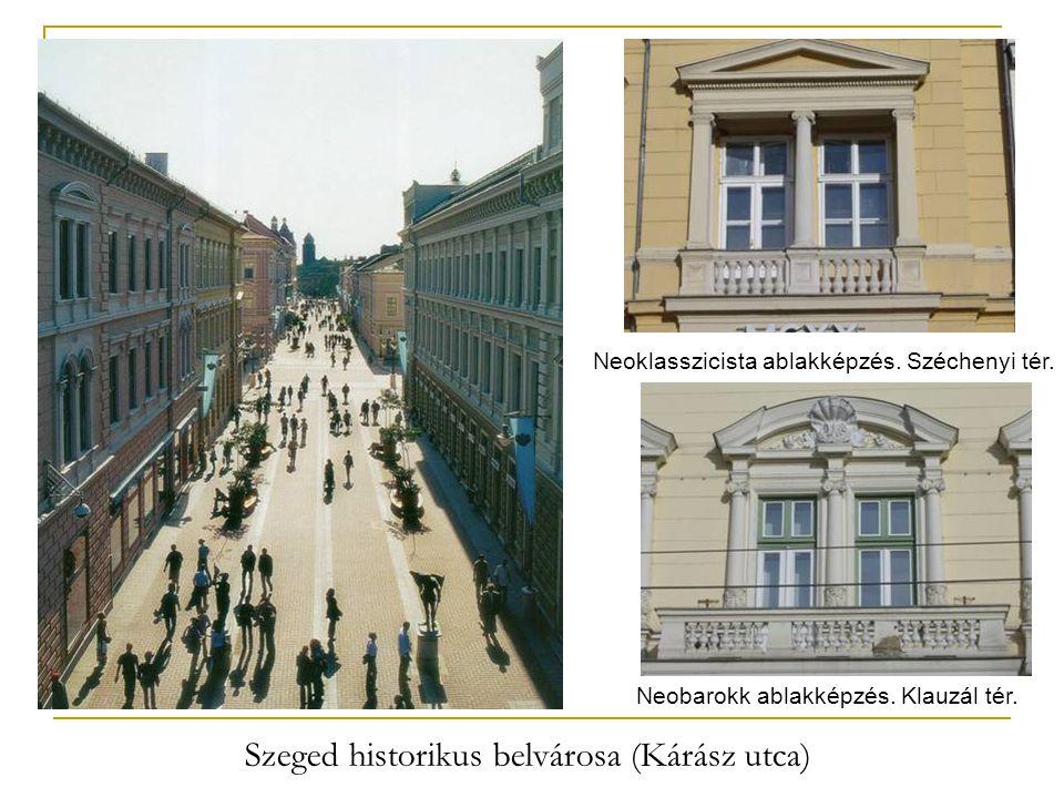 Szeged historikus belvárosa (Kárász utca)
