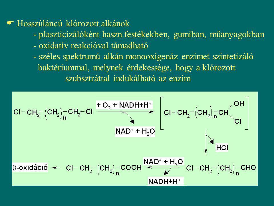 Hosszúláncú klórozott alkánok. - plaszticizálóként haszn
