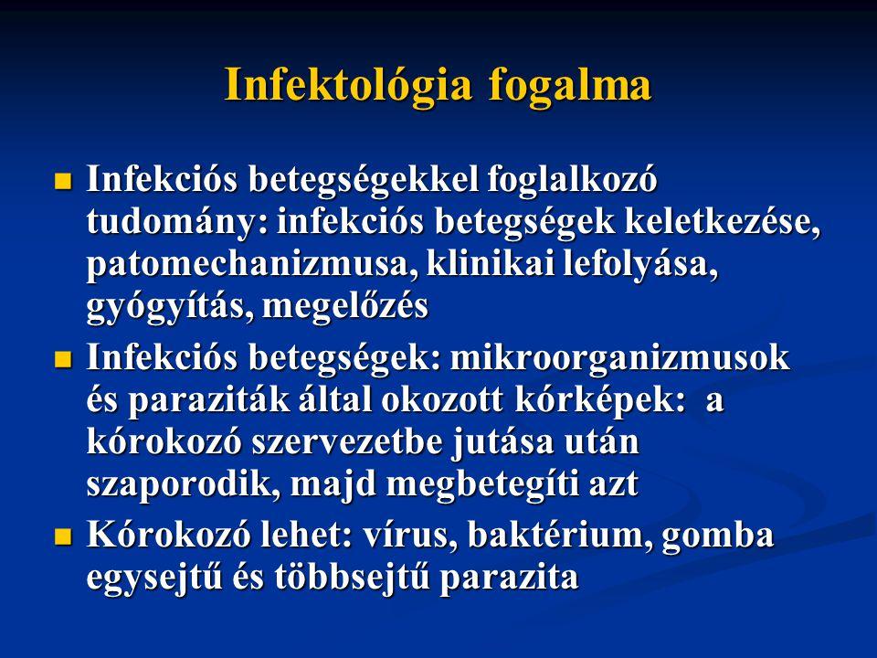 Infektológia fogalma