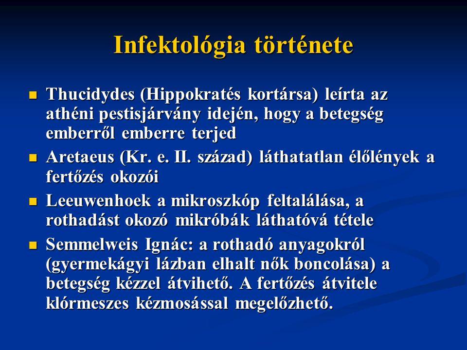Infektológia története