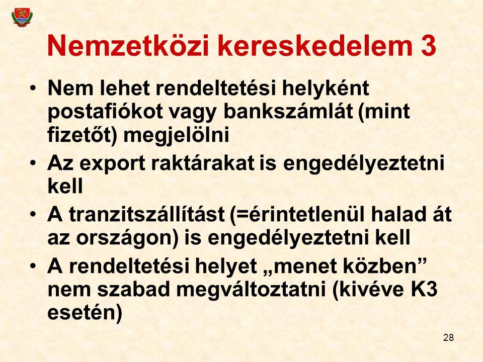 Nemzetközi kereskedelem 3