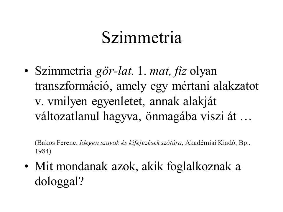 Szimmetria