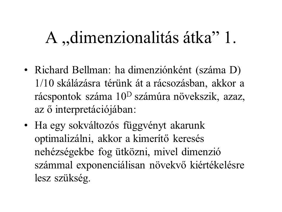 """A """"dimenzionalitás átka 1."""