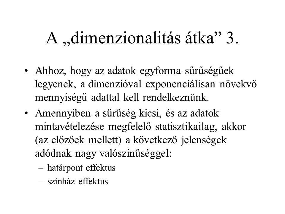"""A """"dimenzionalitás átka 3."""