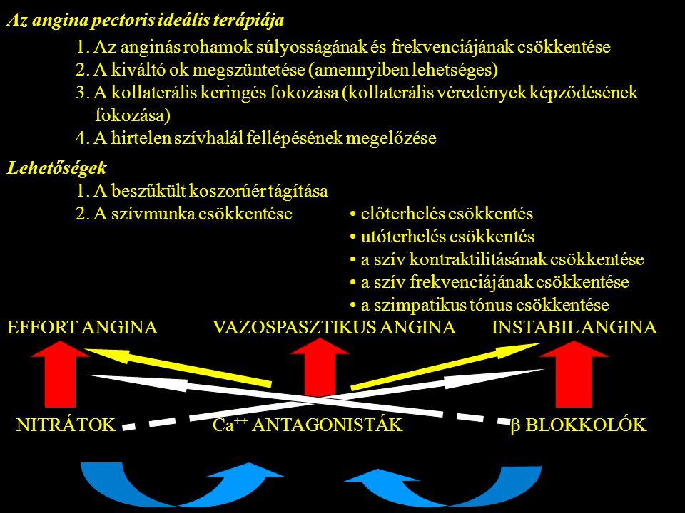 Az angina pectoris ideális terápiája