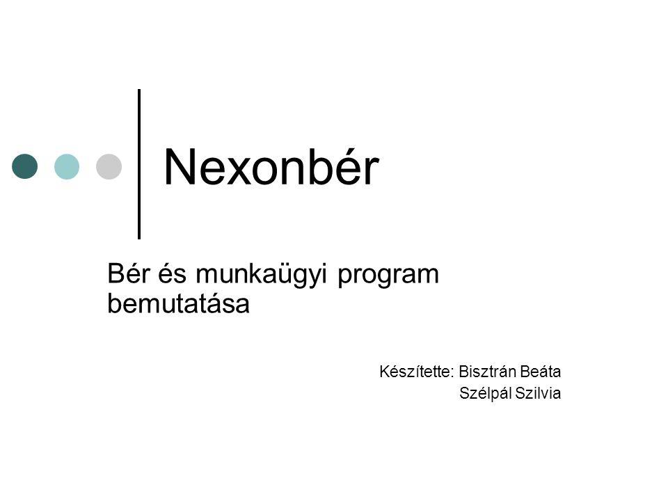 Nexonbér Bér és munkaügyi program bemutatása