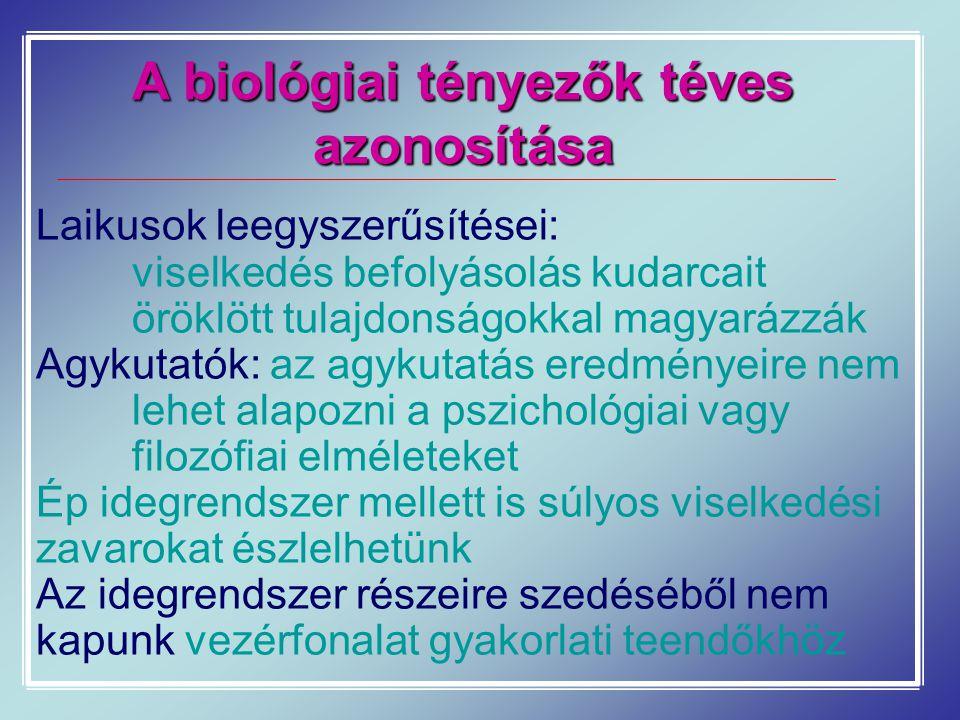 A biológiai tényezők téves azonosítása