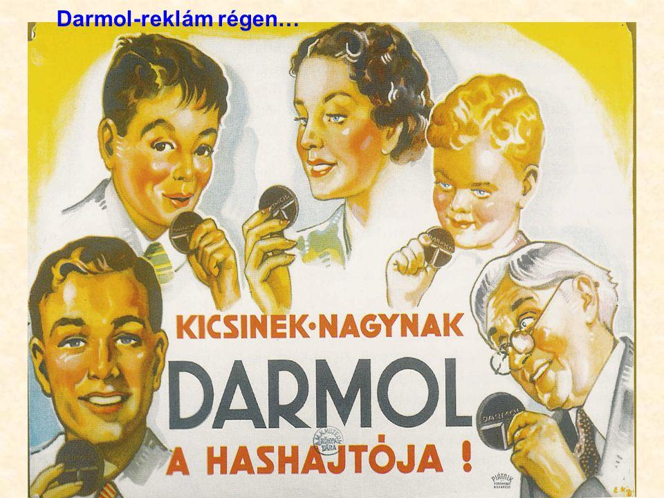 Darmol-reklám régen…