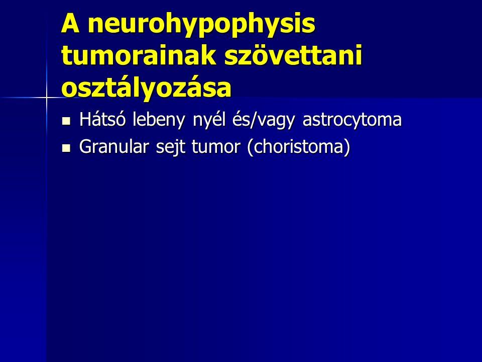 A neurohypophysis tumorainak szövettani osztályozása