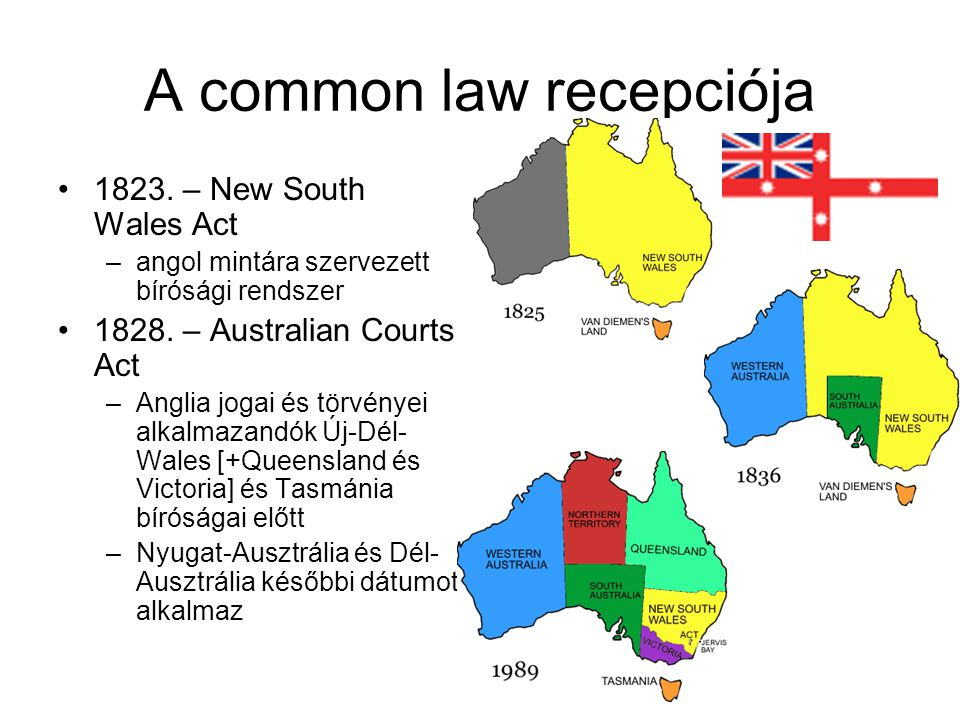 A common law recepciója