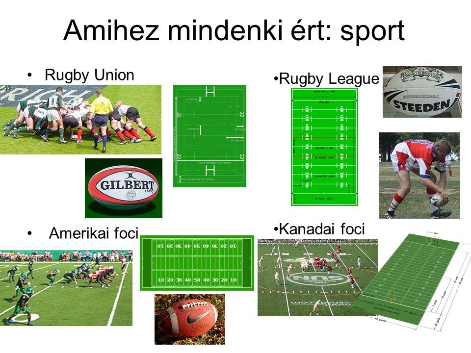 Amihez mindenki ért: sport