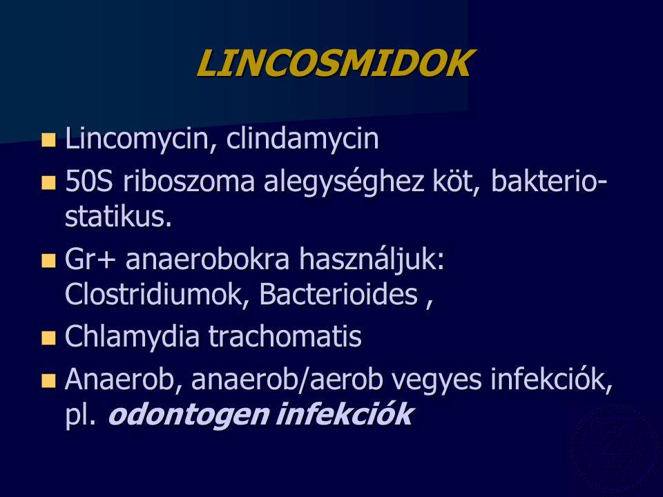 LINCOSMIDOK Lincomycin, clindamycin