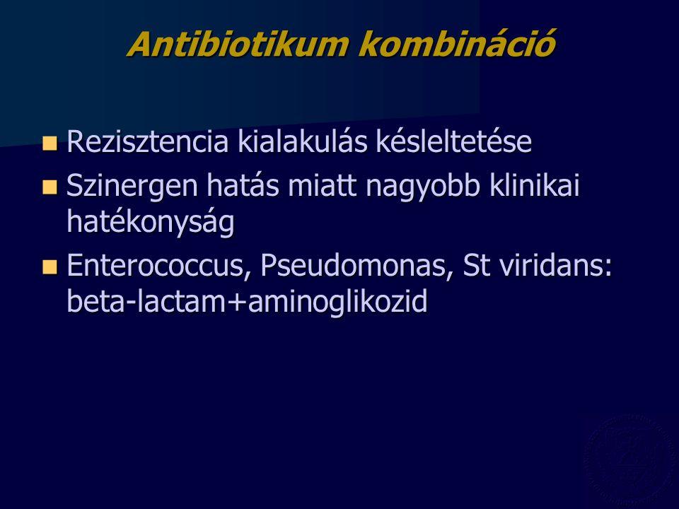 Antibiotikum kombináció