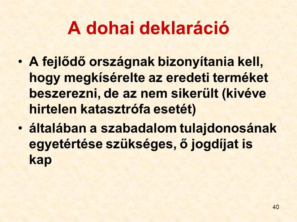A dohai deklaráció