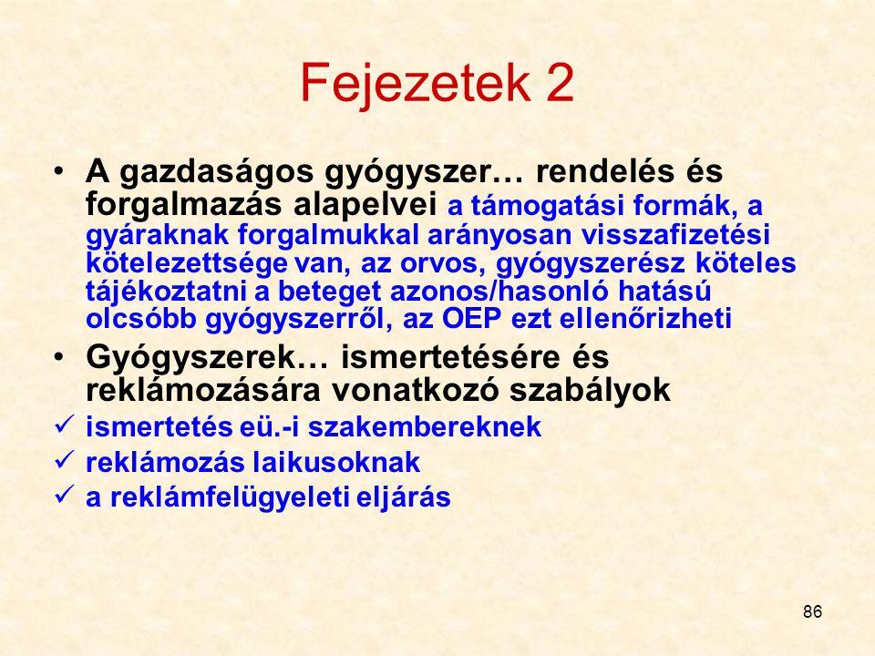 Fejezetek 2