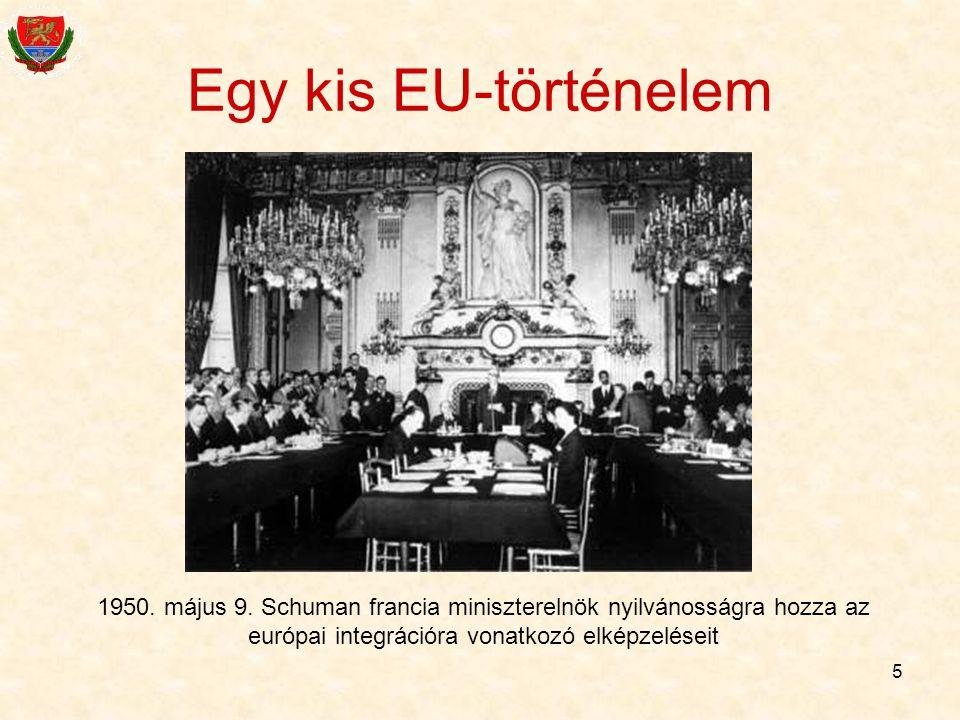 Egy kis EU-történelem 1950. május 9.