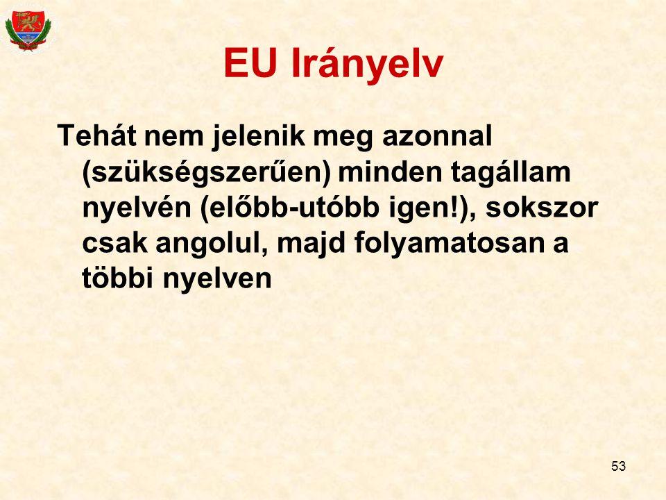 EU Irányelv