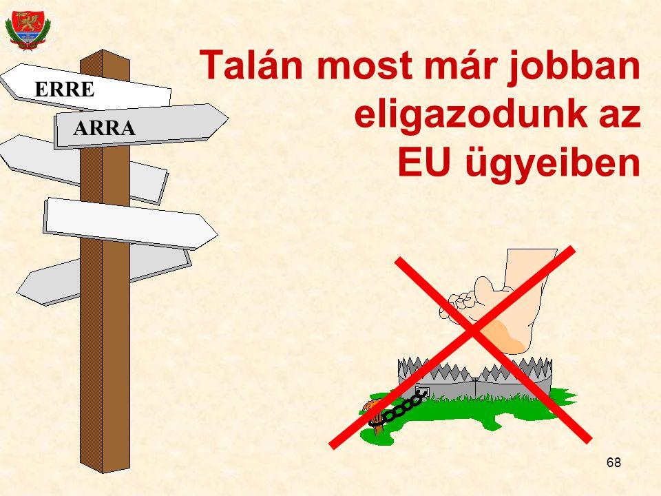 Talán most már jobban eligazodunk az EU ügyeiben