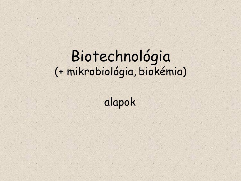 Biotechnológia (+ mikrobiológia, biokémia)