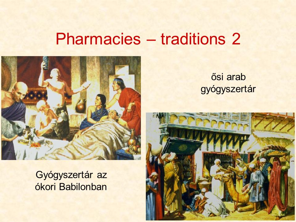 Pharmacies – traditions 2