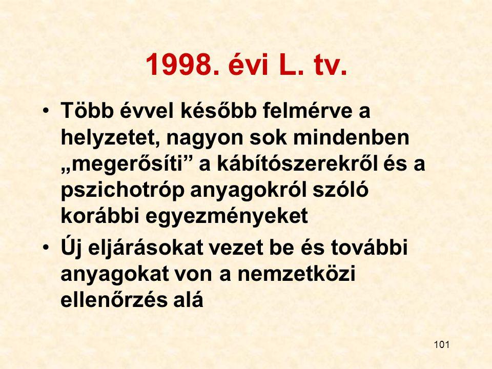 1998. évi L. tv.
