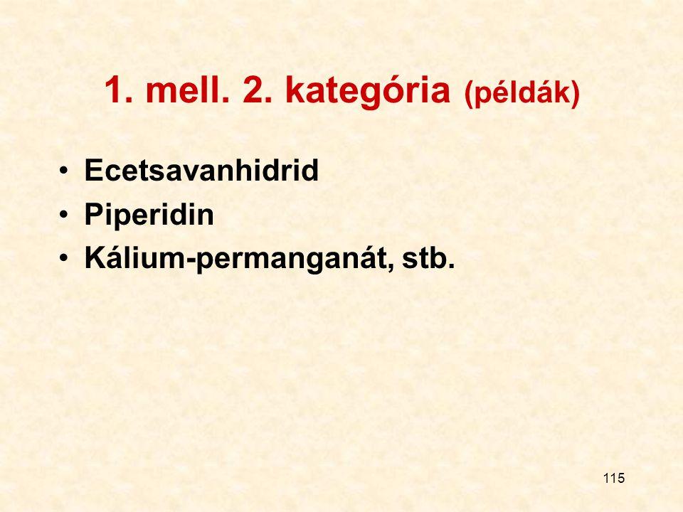 1. mell. 2. kategória (példák)