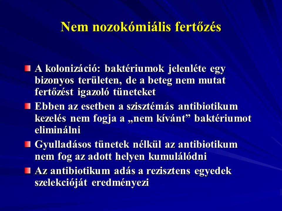 Nem nozokómiális fertőzés
