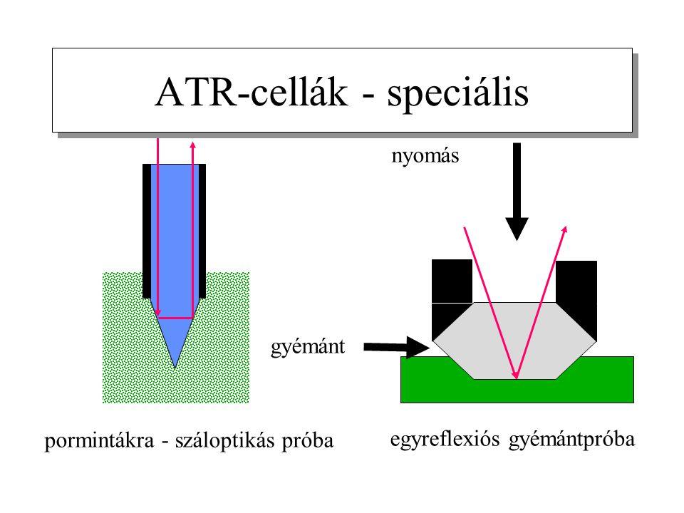 ATR-cellák - speciális
