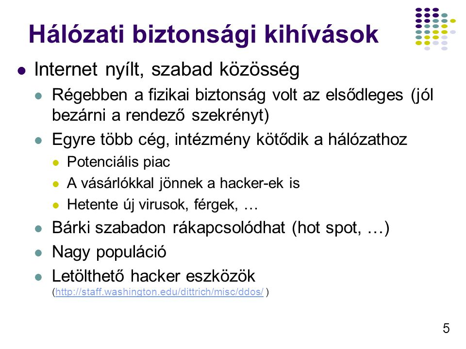 Hálózati biztonsági kihívások