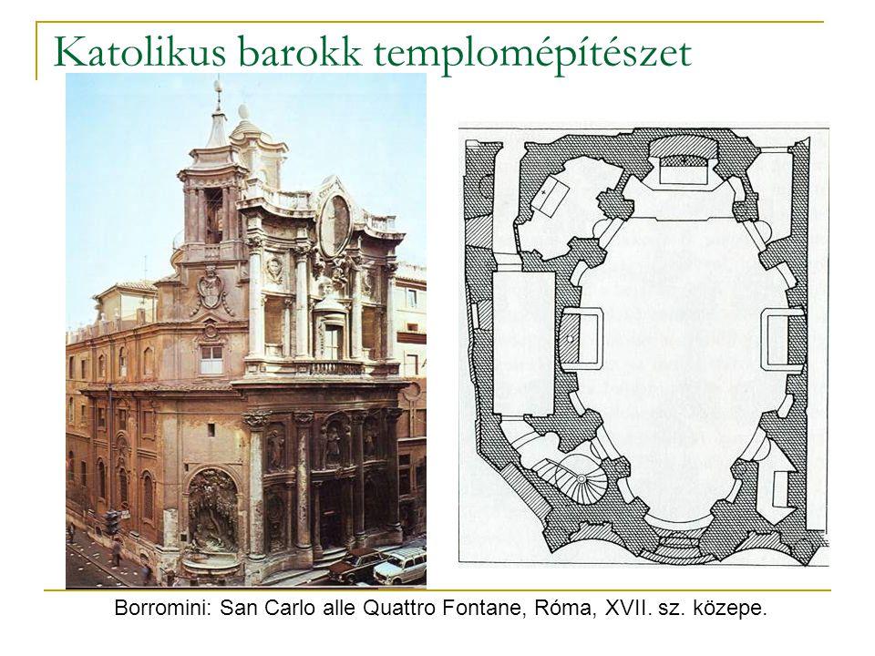 Katolikus barokk templomépítészet