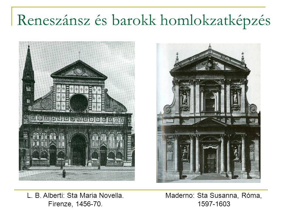 Reneszánsz és barokk homlokzatképzés
