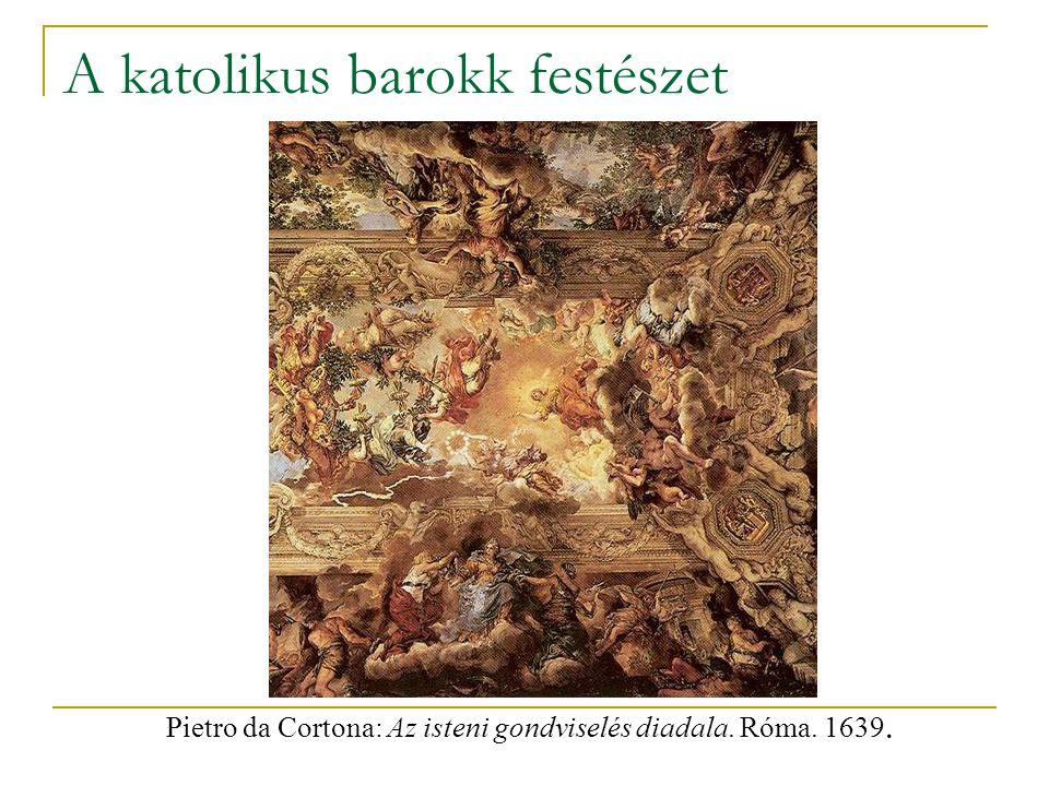 A katolikus barokk festészet