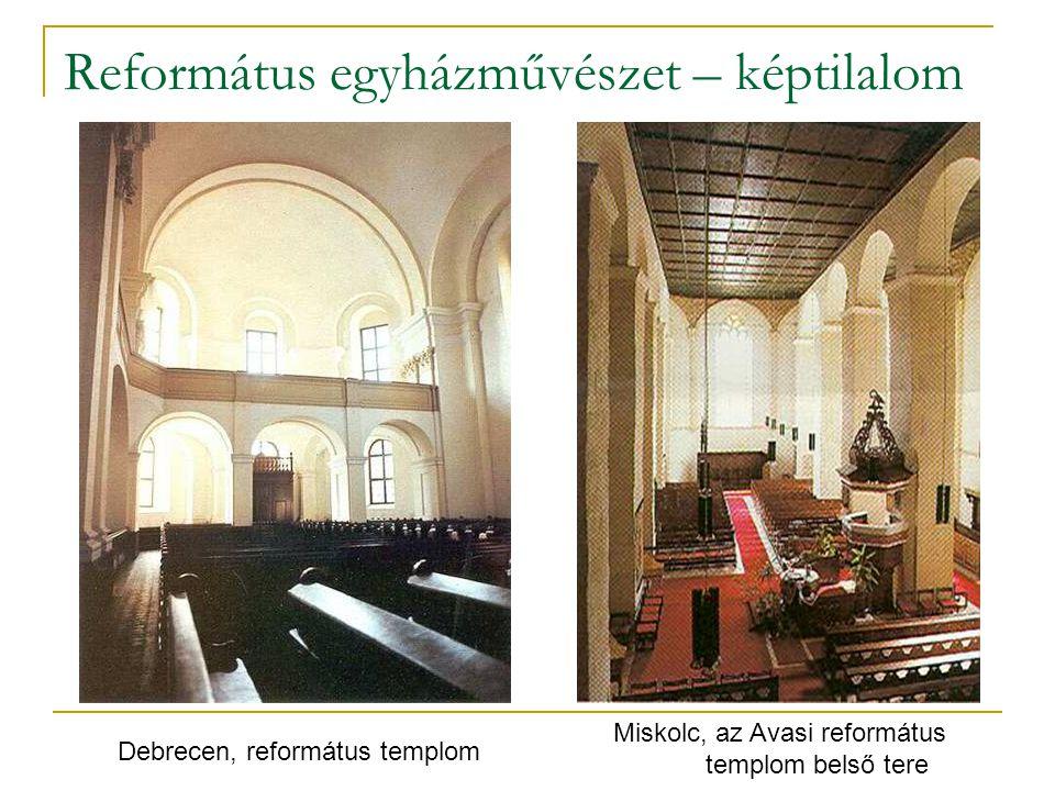 Református egyházművészet – képtilalom