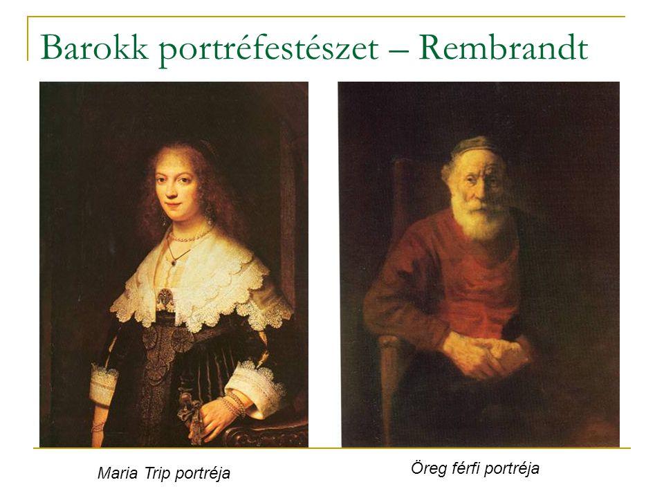 Barokk portréfestészet – Rembrandt