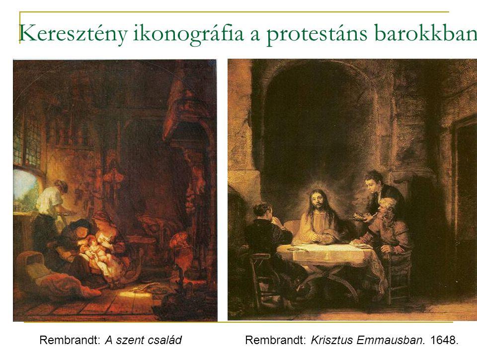 Keresztény ikonográfia a protestáns barokkban