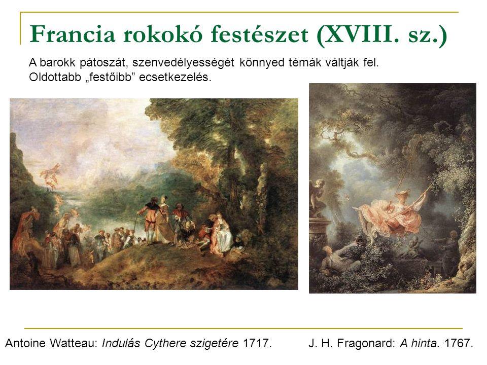 Francia rokokó festészet (XVIII. sz.)