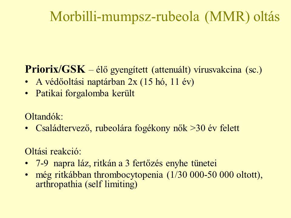 Morbilli-mumpsz-rubeola (MMR) oltás