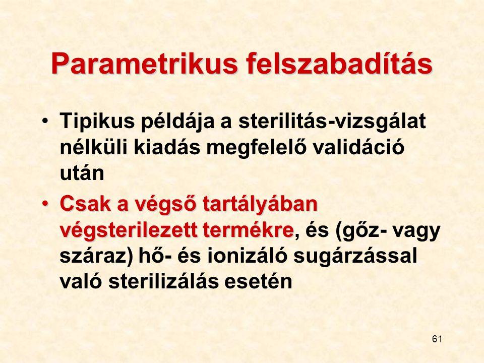 Parametrikus felszabadítás