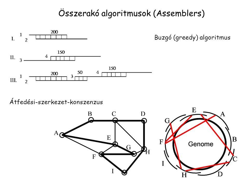 Összerakó algoritmusok (Assemblers)